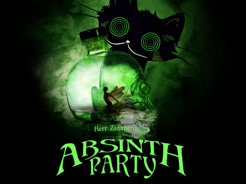 Sat. 11 Nov. – The Absinth Party!
