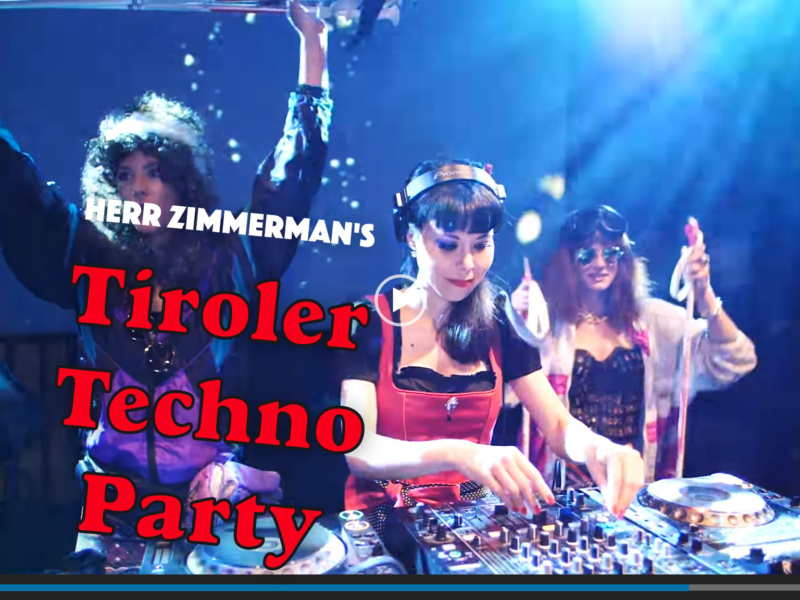 Tiroler Techno Party! – Videos & Fotos